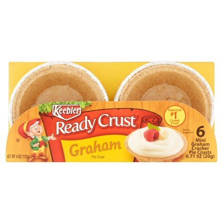 Keebler Mini Graham Cracker Ready Crumb Crust 1 Pack - Keebler Pie Crusts