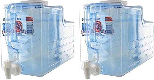 Arrow Plastic Beverage Dispenser, 3-Gallon - #00756 - 2 Count