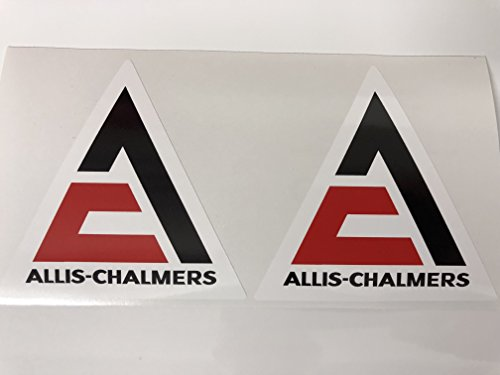 2 Allis Chalmers Decals by ()