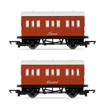 HORNBY THOMAS & FRIENDS R9293 ANNIE AND CLARABEL COACHES by Hornby