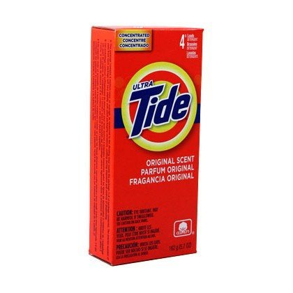 Tide 4 Load Concentrate Laundry Detergent Powder, 5.7 Ounce - 14 per case.