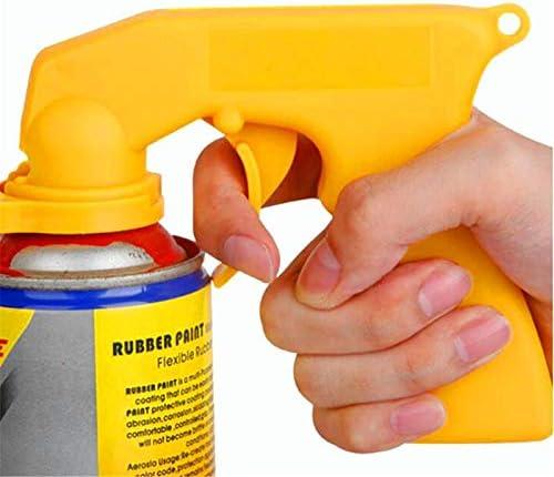 JenNiFer Kit de herramientas para el cuidado de la pintura en aerosol con mango de pistola de pulverización con agarre completo