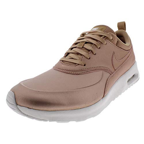 Nike Womens Air Max Thea SE Running Trainers 861674 Sneakers Shoes (US 9, Metallic red Bronze 902)