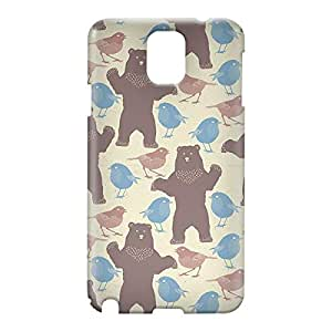 Loud Universe Samsung Galaxy Note 3 3D Wrap Around Spring Beer Chicks Pattern Print Cover - Multi Color