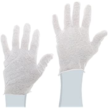Protective Industrial 97-500 Cotton Lisle Economy Light Weight Men's Glove Liner, White (Pack of 24)