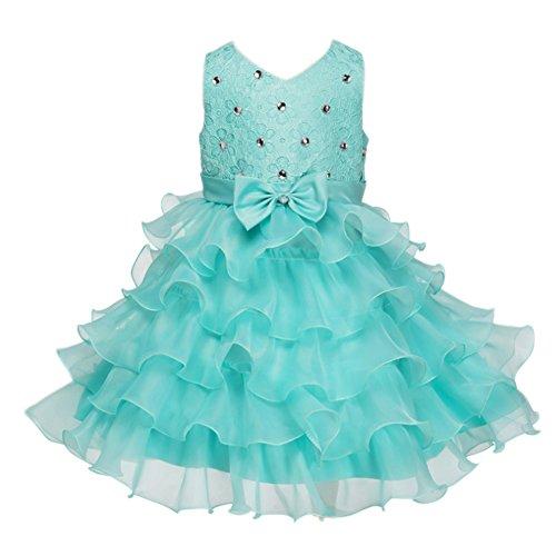 Buy light blue ruffle dress - 8