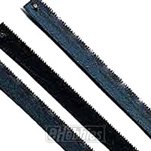Zona 36-657 Mini/Junior Hack Saw Blades, 6-Inch Long x 5-3/4-Inch Between Pins, 250-Inch x 015-Inch x 32 TPI, 3-Pack