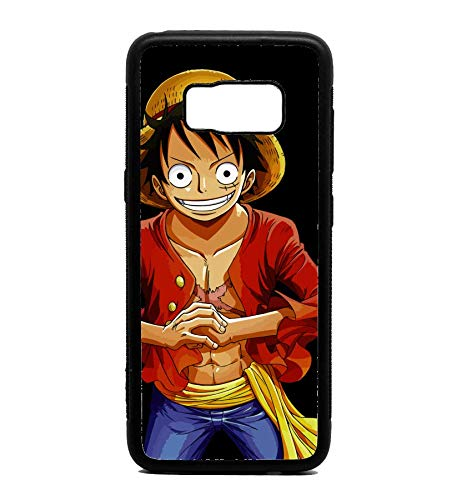 designer fashion feb22 96f66 Amazon.com: Phone Case One Piece D. Luffy for Galaxy S8 Plus: Cell ...