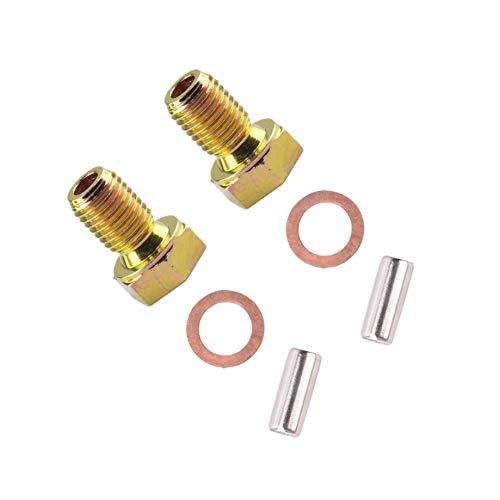 2 Kit Engine Oil Drain Plug for BMW 3-5-6-7-8 Series E30 E34 E46 318 323 325 328 330 524 525 528 530 533 535 540 633 635 733 735 740 750 840 850 M3 M5 M6 X3 X5 Z3 Z4