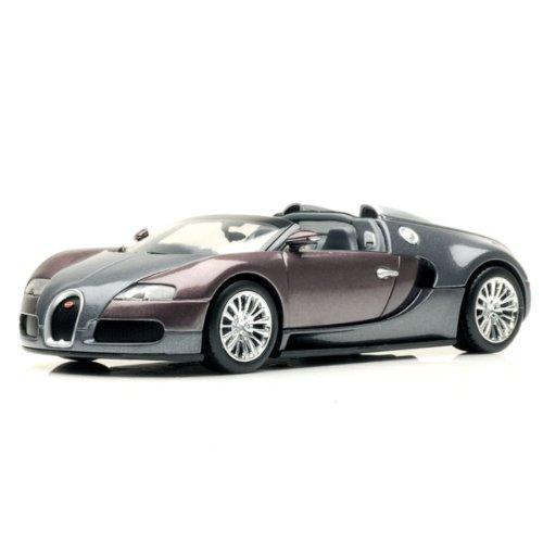 Bugatti Veyron Titanium Grau Metallic 1:43 Minichamps