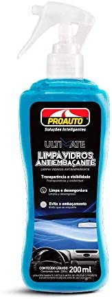 Limpa Vidros Anti-embaçante Proauto 200 ml