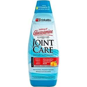 Drinkables Ultimate Liquid Joint Care, Natural Citrus, 33 Ounces