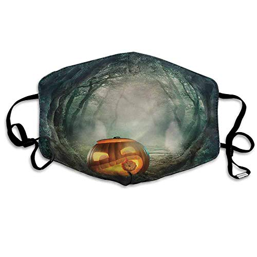 Halloween Fashion Mouth Mask Scary Pumpkin for Cycling