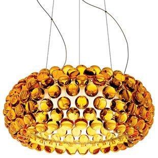 LED Bulb Modern 50cm,65cm Foscarini Caboche Ball Golden Pendant Lamp ( Color : Gold , Size : D65cm ) (Caboche Pendant)