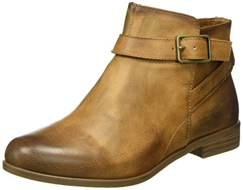 Tamaris Damen 25083 Biker Boots Braun (Camel 310)