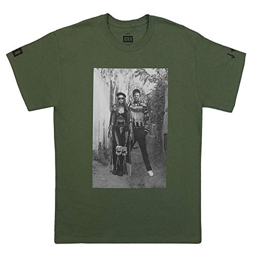 Beyoncé Jay-Z OTR II The Queen & Gangster Tee (Military Green)