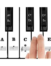 Klistermärke för pianotangenter
