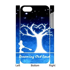 iphone 4,4S 3D Phone Case White Kingdom Hearts F6571559