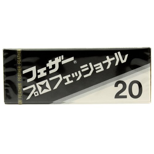 20 Feather Professional Single-Edge Razor Blades