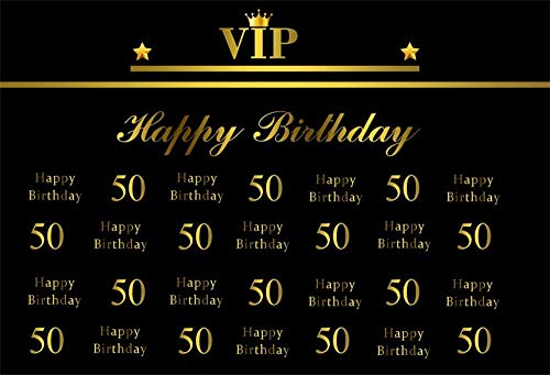 OFILA Customized Birthday Backdrop 7x5ft Happy Birthday Photography Background Adult 21th Birthday 30th 40th 50th 70th Birthday Customized Birthday Banner Birthday Party Decoration Studio Portraits