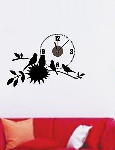 LT bonitas de flores y pájaro electrónicos batería Tiempo ...