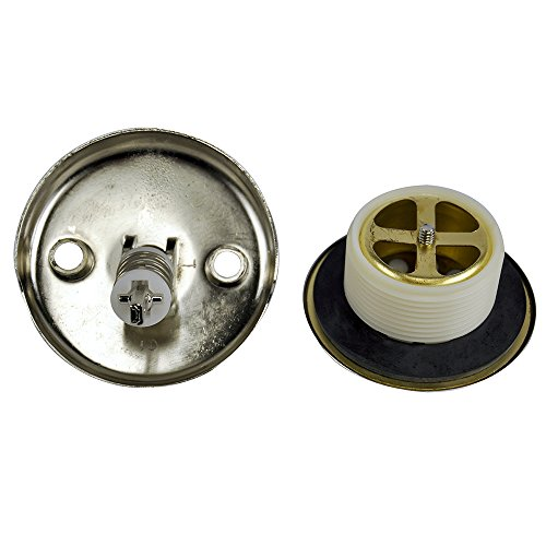 037155892426 - Danco 89242 Trip Lever Tub/Bath Drain and Overflow Trim Kit/Plate in Brushed Nickel carousel main 1