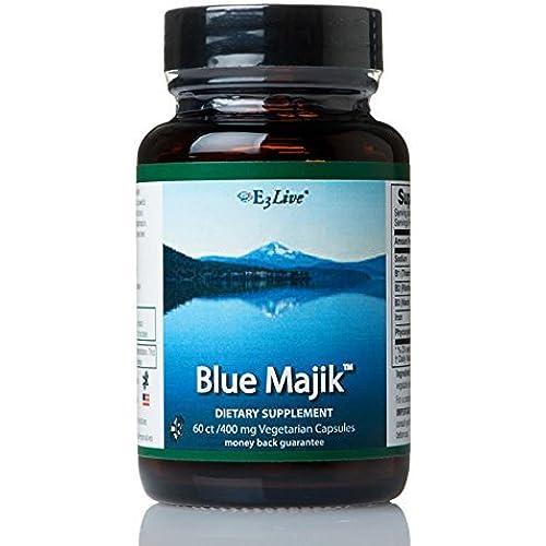 E3Live Blue Majik 60ct/400mg Capsules - 1 Bottle