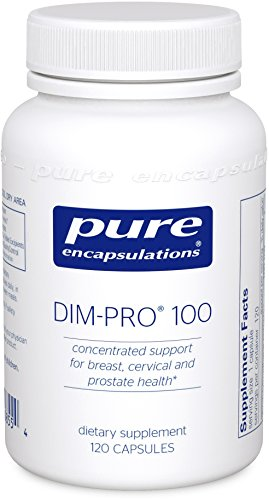Pure Encapsulations - DIM-PRO 100 - Dietary Supplement with BioResponse DIM - 120 Capsules by Pure Encapsulations