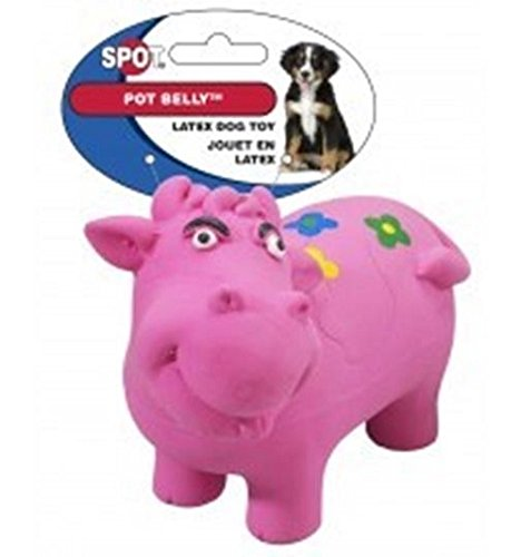 ETHICAL PRODUCTS 773869 Pot Belly Latex Animals Toy for Pets, (Pot Belly Dogs)