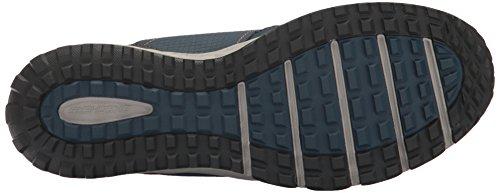 Skechers Plan Zapatillas Azul Escape para Entrenamiento Hombre de Marino Anaranjado rqTrEw5