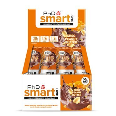 PhD Smart Bar Chocolate Peanut Butter 12 x 64g by PhD Smart Bar