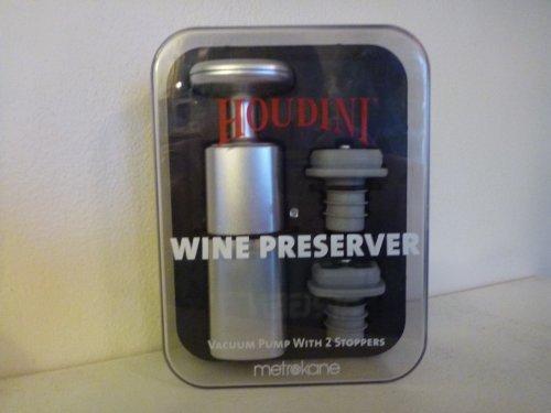 (Houdini Wine Preserver by Metrokane)