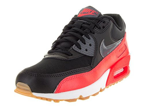NIKE Grey sl 90 Black Femme brght Basses Dark Black Crmsn Sneakers Max Essential Air rvqw1r6