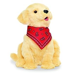 Joy for All Companion Pet Golden Pup - 41zPQEK49nL - Ageless Innovation Joy For All Companion Pets Golden Pup Lifelike & Realistic