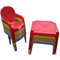Kids / Childrens Table and Chair Set - Chairs with Duck on (Choose Colour)