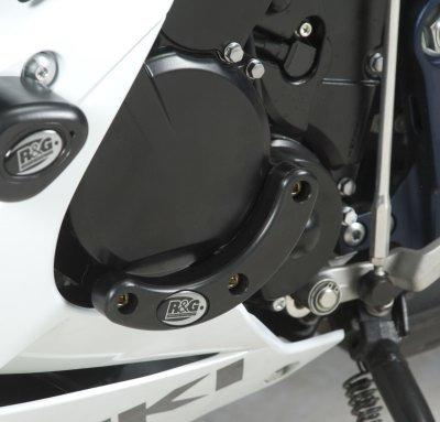 (R&G Racing Left Side Engine Case Slider for Suzuki GSXR 600/750 2011-2014 ECS0069BK)