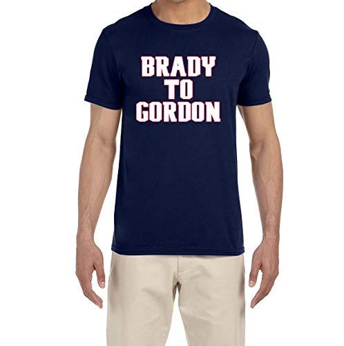 Tobin Clothing Navy New England Brady to Gordon T-Shirt Adult Medium