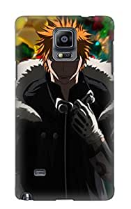 Durable Case For The Galaxy Note 4 - Eco-friendly Retail Packaging(anime Bleach)