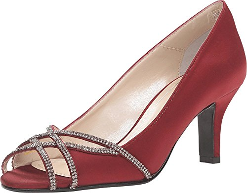 À Chaussures Garnet Eliza Satin Talons Femmes Caparros pTzqww