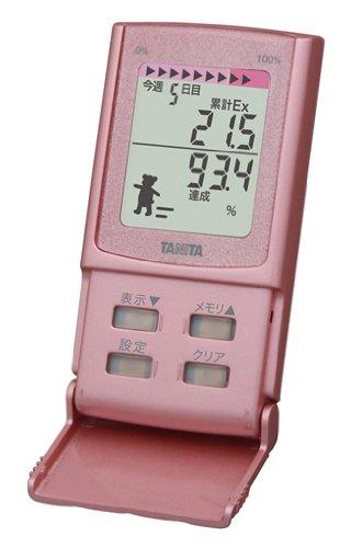 Tanita Pedometer with 3d Sensor Fb-729k-rz Raspberry
