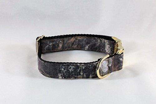 The Sporting Pup Camo Dog Collar--Classic Black