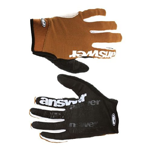 Answer Fall Line XC MTB Full-finger Gloves Large Clay Brown