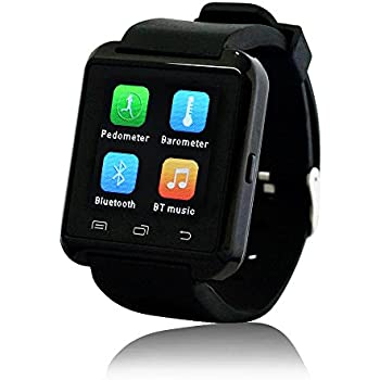 Amazon.com: JACKLEO Gem u8 Smart watch: Cell Phones ...