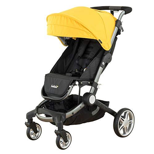 Larktale Lightweight Compact Coast Stroller, Clovelly Yellow