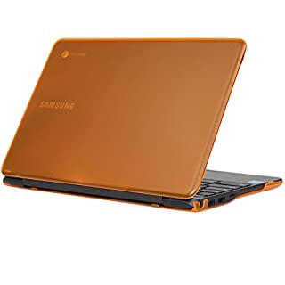 """iPearl mCover Hard Shell Case for 11.6"""" Samsung Chromebook 3 XE500C13 Series (NOT Compatible with Older XE303C12 / XE500C12 / XE503C12 Models) Laptop - Chromebook 3 XE500C13 (Orange)"""