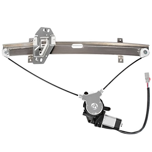 Front Left Driver Side Window Lift Regulator + Motor - for Honda Accord 1998-2002 4-Doors Sedan OE: 72210-S84-A02 741-766 4 Door Window Motor Regulator