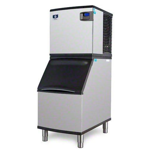 Manitowoc ID-0522A_B-320 485 Lb Air-Cooled Full Cube Ice Machine w/ Storage Bin by Manitowoc