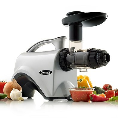 Omega NC800 HDS 5th Generation Nutrition Center Juicer, Silver by Omega (Image #2)