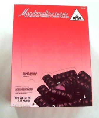 Joyva Cherry Twists Bulk 5 Lbs by Joyva Cherry Marshmallow Twists Gourmet Quality