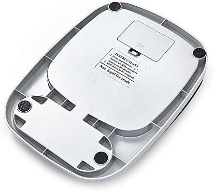 PRWJH Bilancia da Cucina Digitale, Bilancia da Cucina in Acciaio Inossidabile con Bilancia Elettronica, Strumento di misurazione Alimentare, 5 kg / 0,1 g